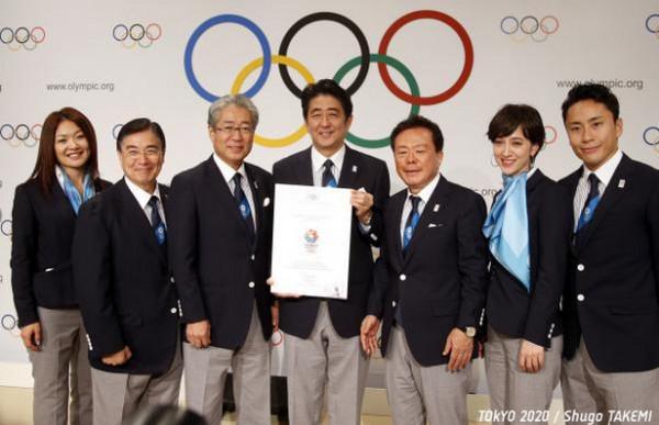 東京オリンピック2020開催決定おめでとう!写真「東京2020オリンピック・パラリンピック招致委員会 」HPより