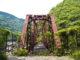 武庫川渓谷・廃線跡。漆黒のトンネルと古い枕木の一本道。雄々しい渓谷の巨岩と水の流れ。一度は訪れたい関西のハイキングスポット