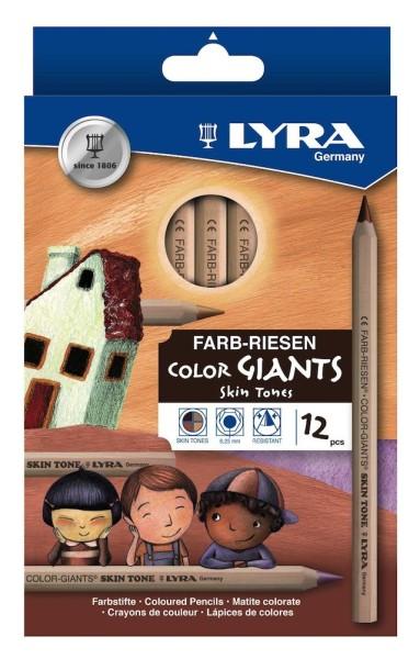 LYRA(リラ)スキントーン色鉛筆